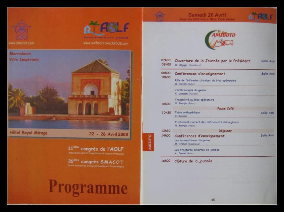 PROGRAMME CONGRE 2008