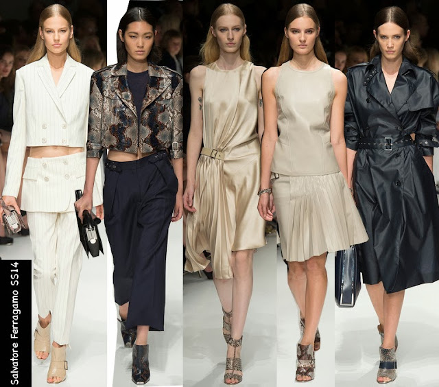 salvatore ferragamo womens spring collection