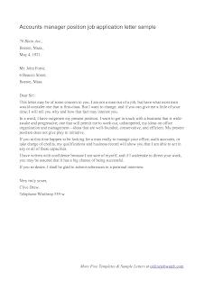 job application letter sample 2