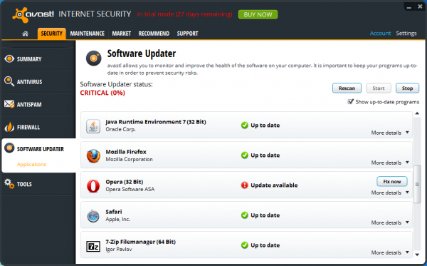 Download  Avast! Internet Security 8