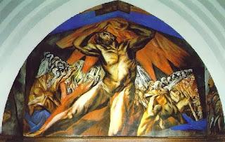 Prometeo, de nuevo en ayuda de la humanidad y desafiando a los Dioses