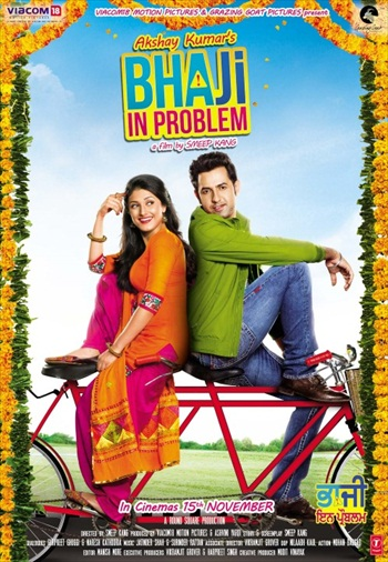 Bhaji In Problem 2013 Punjabi 720p HDRip 850mb