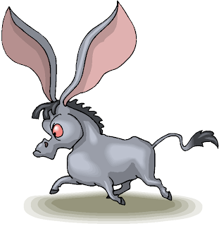 Long Ear Donkey Free Clipart
