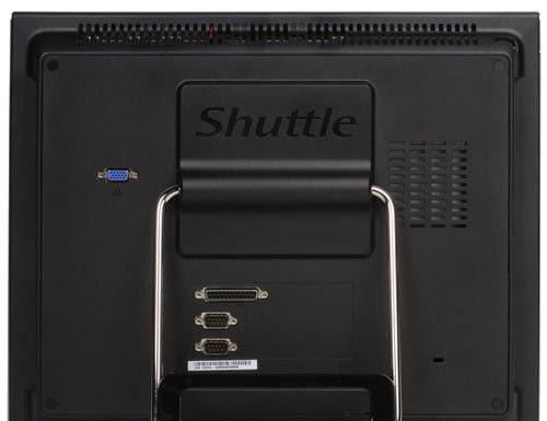 расположение разъемов в Shuttle X50V4