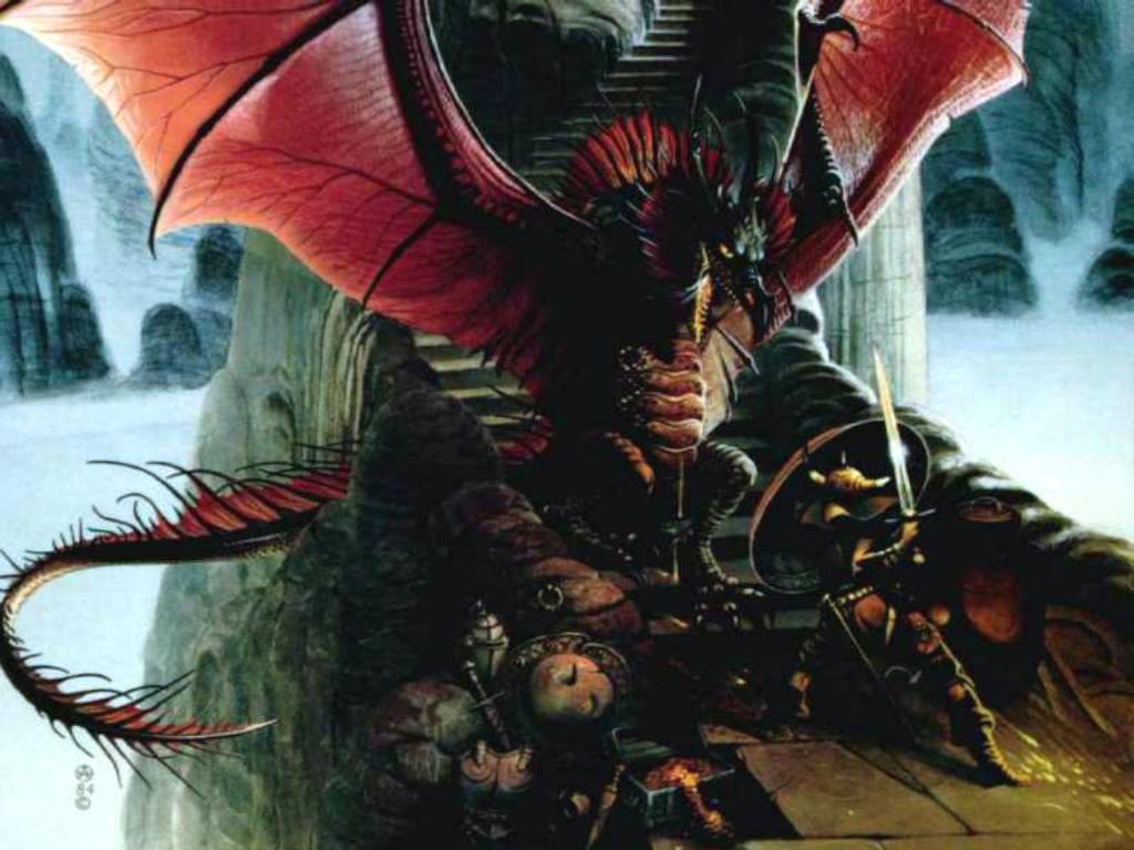 dans fond ecran dragon 2131