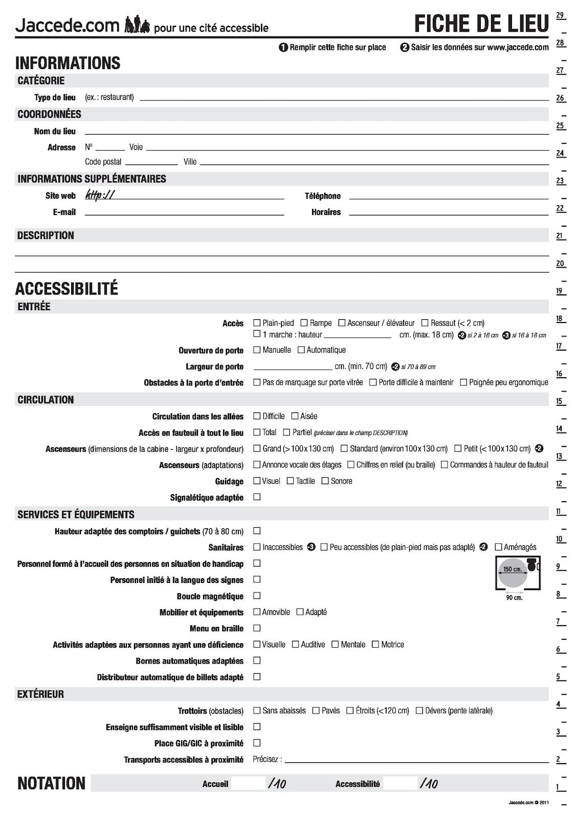 Espace cyber base emploi p m de folelli handicap et - Bureau de service national du lieu de recensement ...
