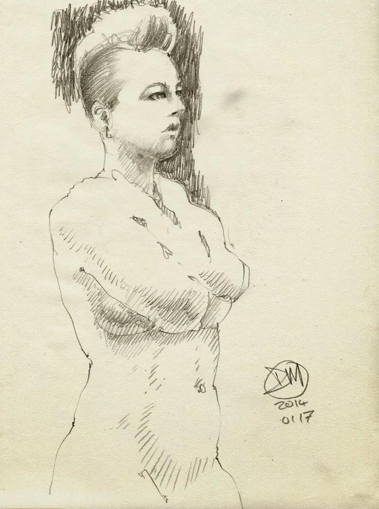 10 minute nude by David Meldrum