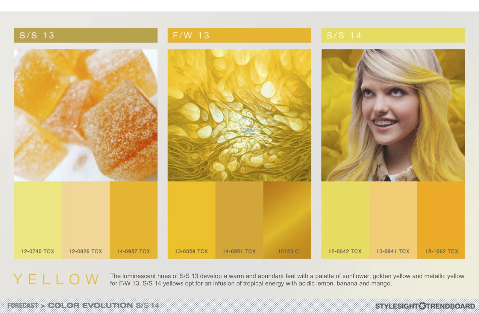 Here is a complimentary highlight of their Color Evolution S/S 14 ...