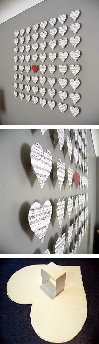 Wall Decor With Paper : Best diy projects paper wall decor