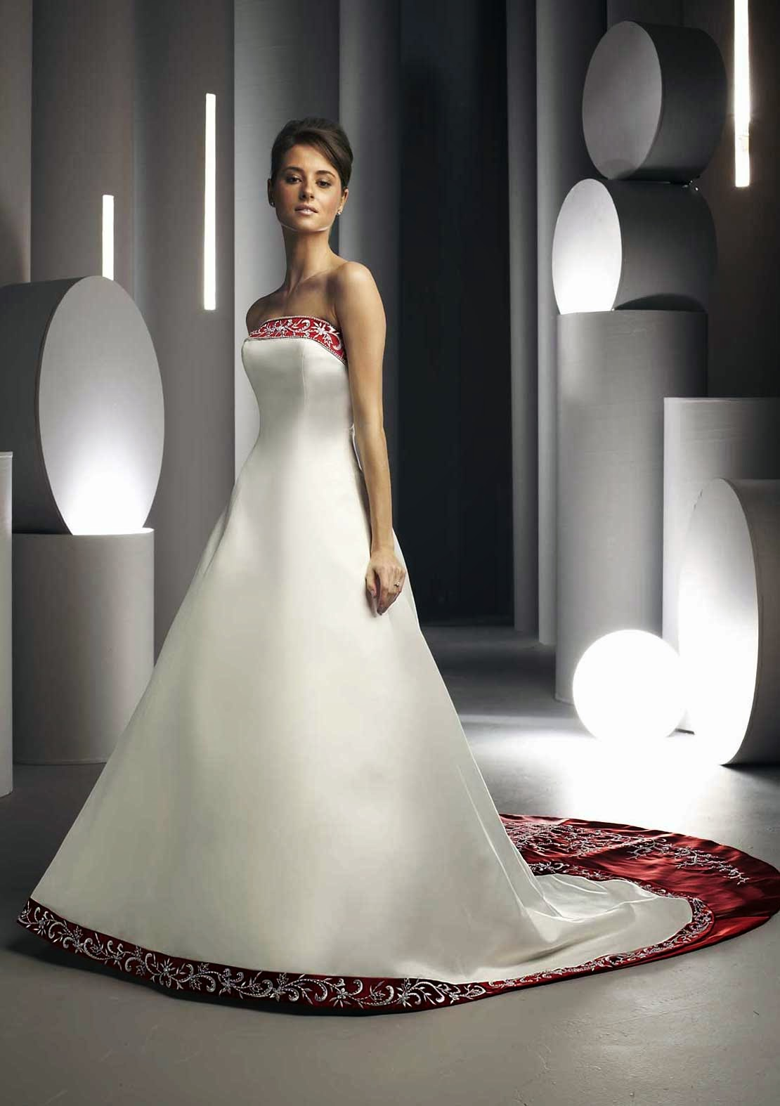 Colored Wedding Dresses Photos HD Concepts Ideas