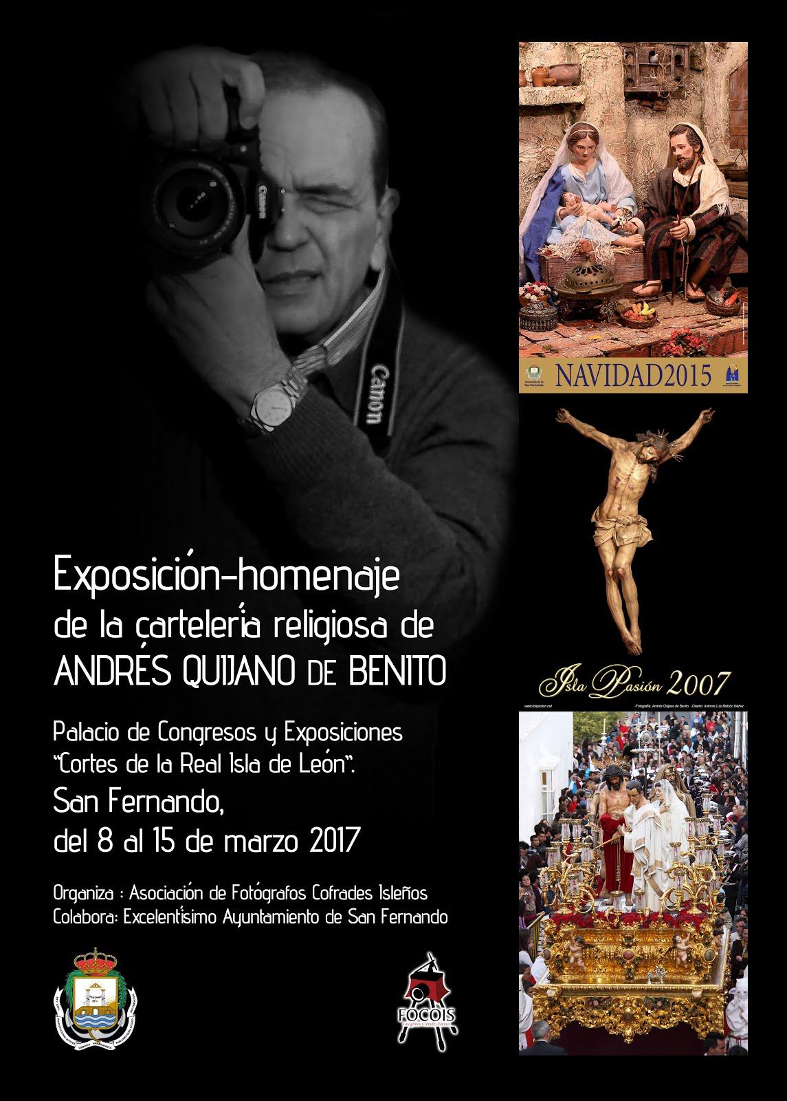 Exposición Andrés Quijano