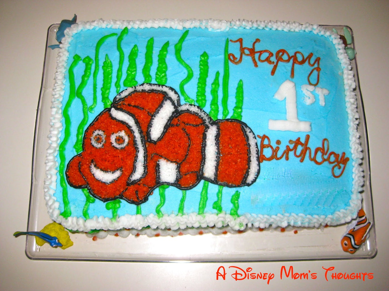 Finding Nemo First Birthday Party Food