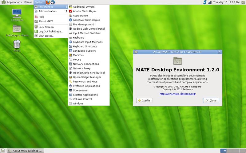 MATE Desktop Environment di Ubuntu Precise