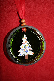 Carved Christmas Tree Ornament
