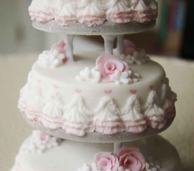 Wedding Cake Miniature Replica wedding party reply inurlblog