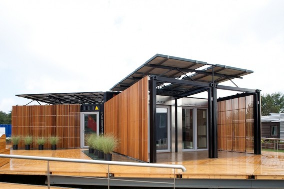 Shipping container homes september 2011 for U shaped container home