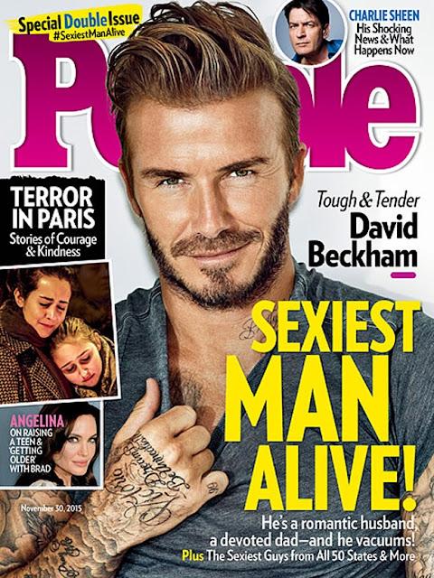 David Beckham é o homem mais sexy de 2015, segundo a People