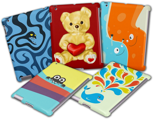 Cute iPad Mini Cases for Kids by borianag