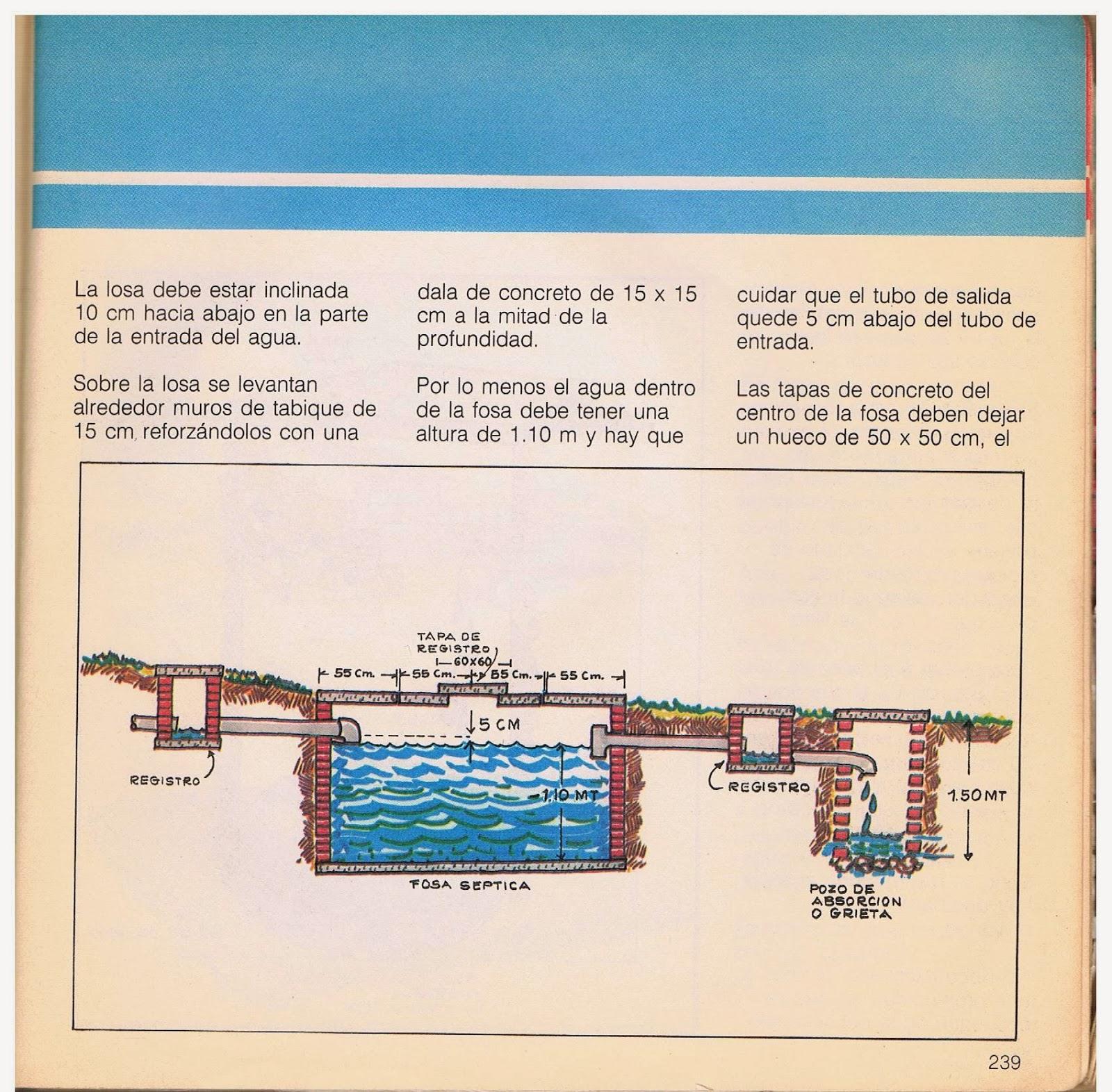 Manual para construccion de fosa septica download free - Construir fosa septica ...