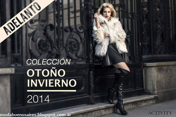 Activity otoño invierno 2014. Back moda otoño invierno 2014.