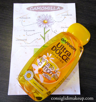 Review: Shampoo Ultra Dolce all'estratto di Camomilla e Miele - Garnier