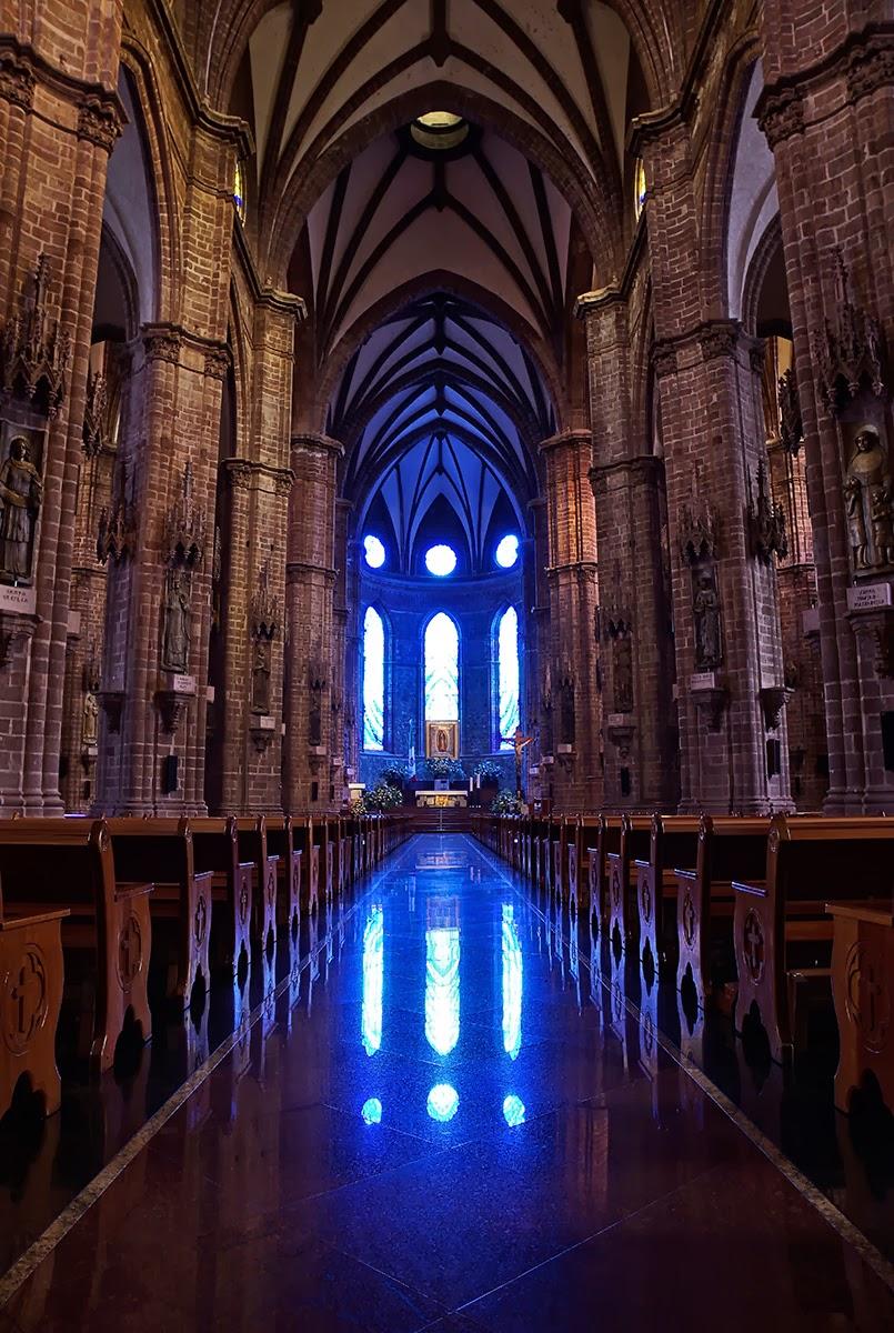 Jaime ramos m ndez interior del santuario guadalupano en for Catedral de zamora interior