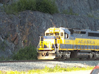 Alaska Railroad Engine
