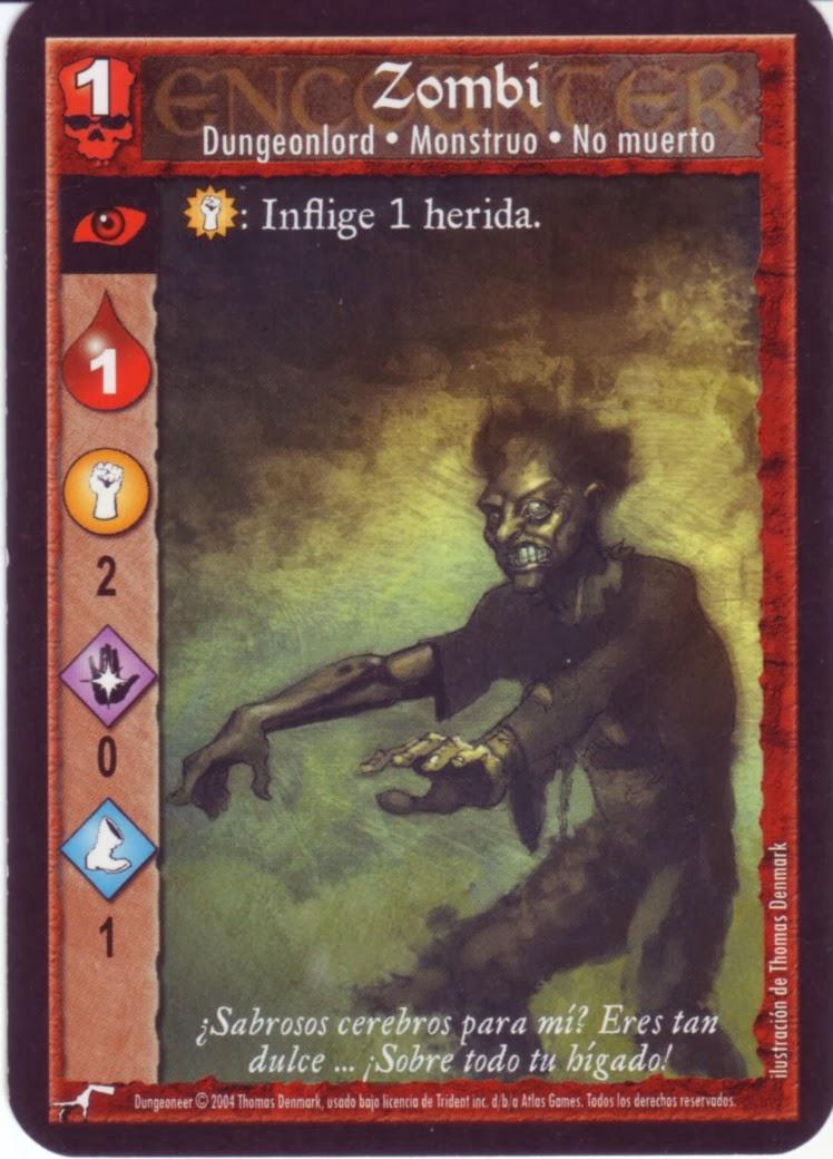 Dungeoneer - Monstruo