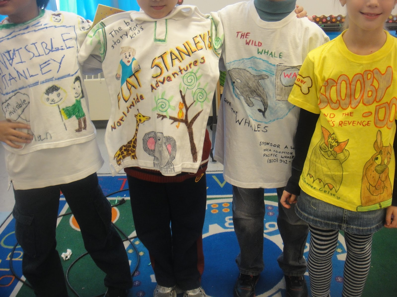 t-shirt book report project My students need t-shirts to create t-shirt book reports do you remember having to complete a book report that was pages long we are a 3rd grade class.