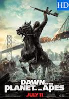 Poster de El Planeta de los Simios Confrontación