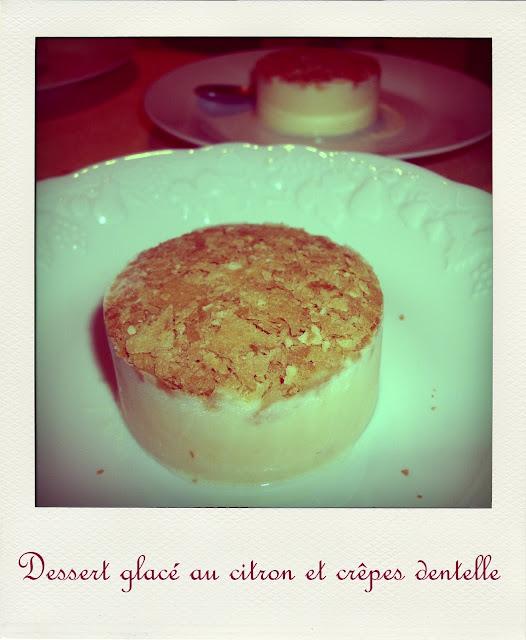 Br ves de gourmandise dessert glac au citron et cr pes dentelle - Recette crepe tupperware ...