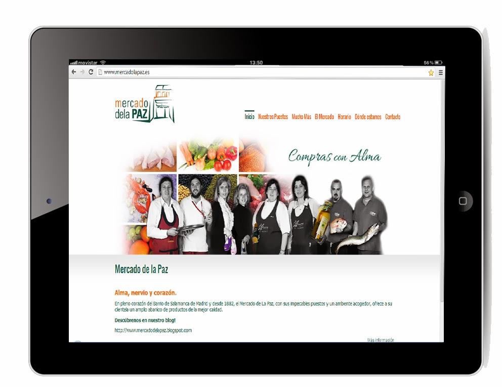 Web Mercado de laPaz