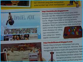 DANIEL ADIE dalam majalah INTREND