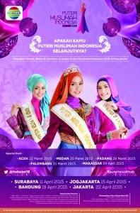 Dibuka: Audisi Puteri Muslimah Indonesia 2015