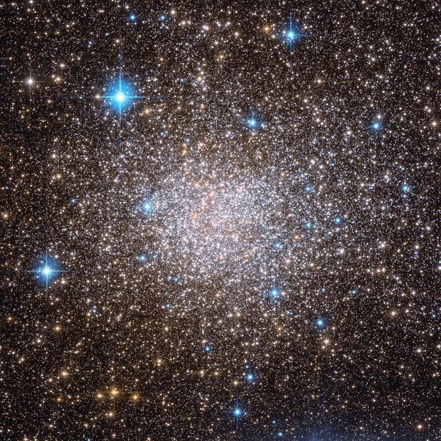 Hubble witnesses commotion in Globular Cluster Terzan 5