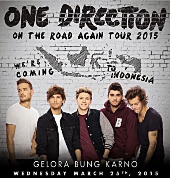 One Direction Jakarta