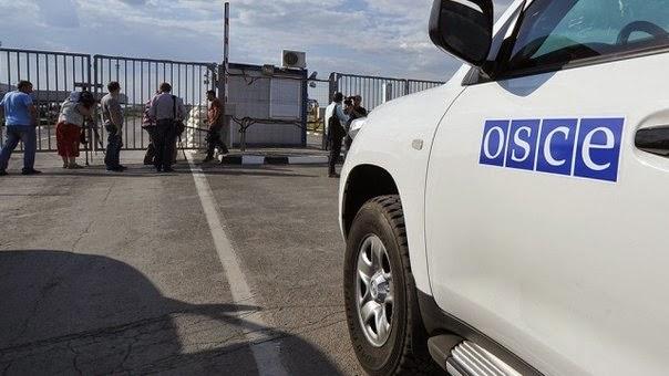 Наблюдатели ОБСЕ зафиксировали нарушение перемирия в Донецке