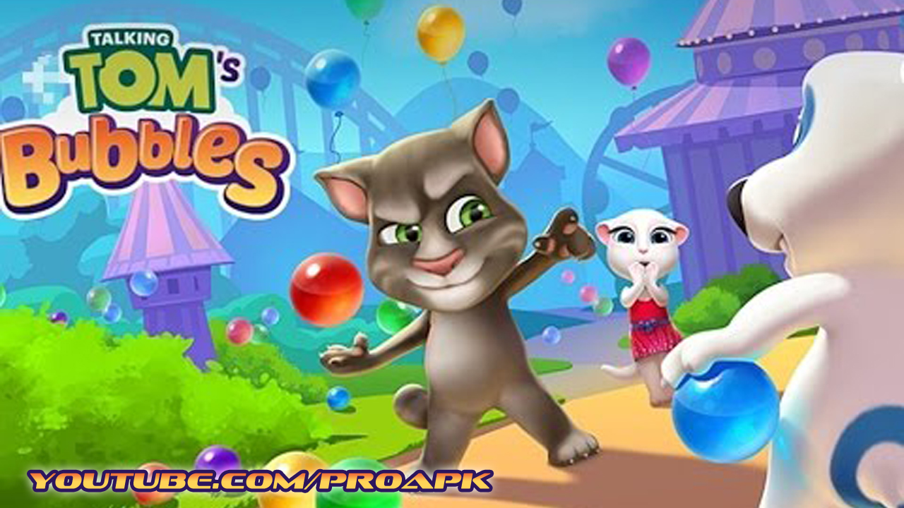 Talking Tom's Bubbles Gameplay IOS / Android