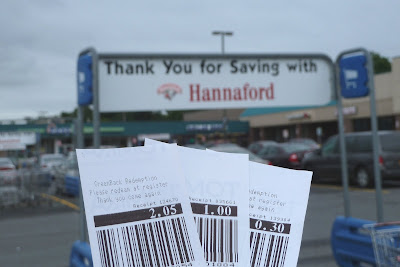 Refund at Hannaford