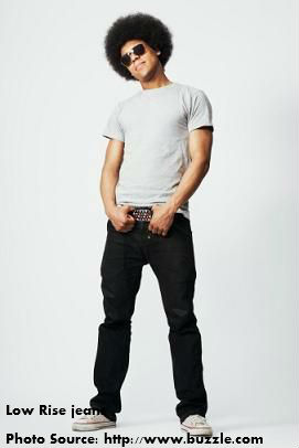 Low Rise jeans for men