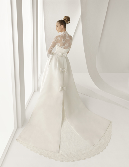 Miss bush bridalwear rosa clara adorno has arrived for Maggie sottero grace kelly wedding dress