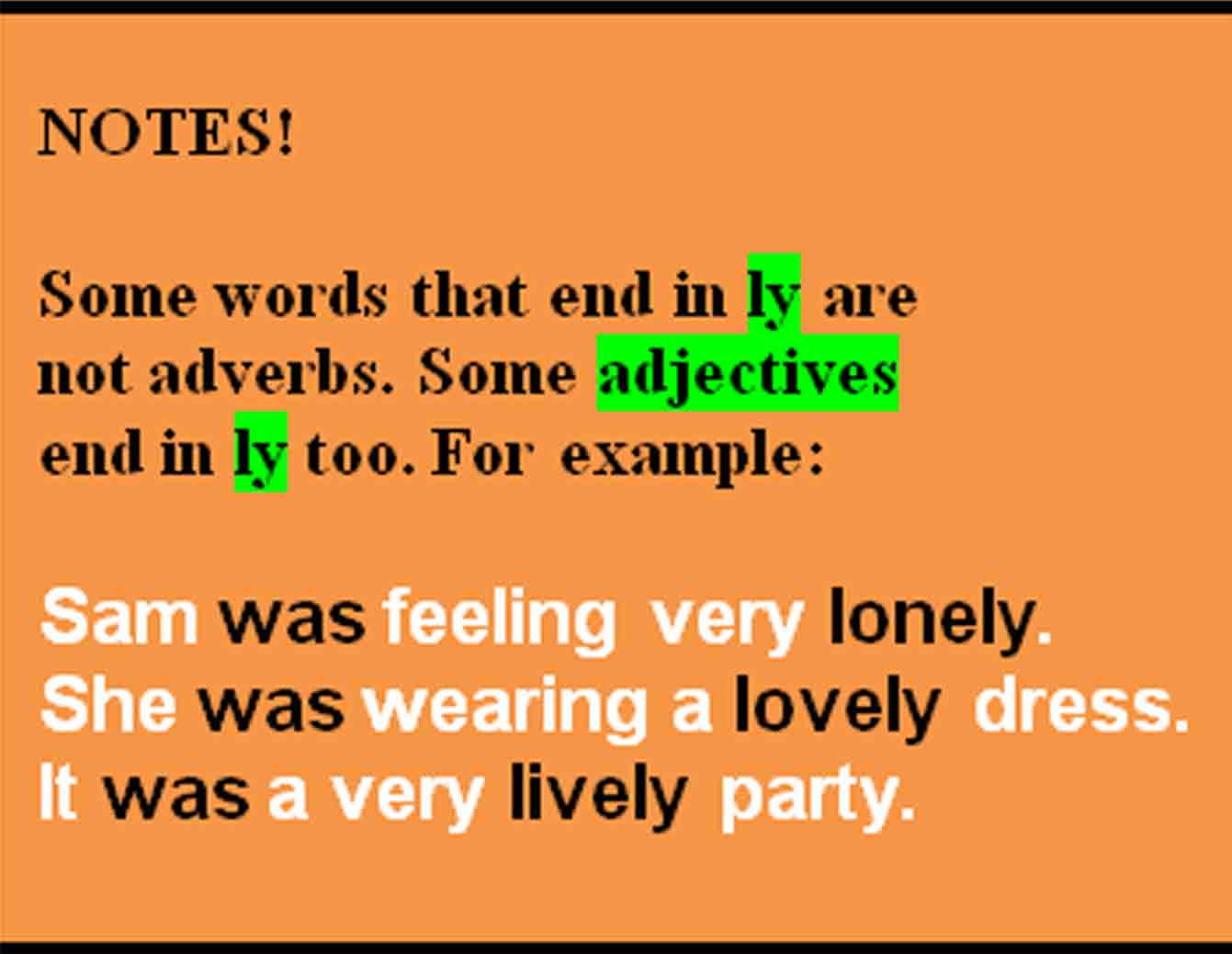 Banua Intellect Adverbs And Adverb Phrases Manner Time