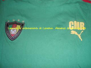 camiseta de Camerún, Cameroon shirt