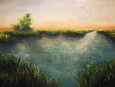 """Sunsetting"" 18x24"
