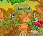 العاب مغامرات في الغابة للكبار
