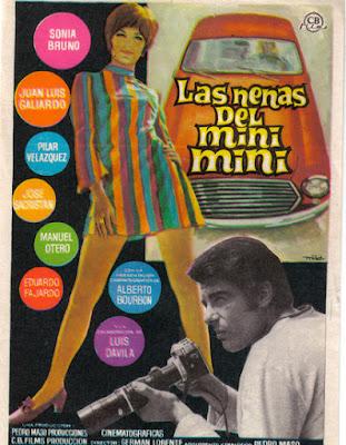 Las nenas del mini mini, de Germán Lorente, 1969.