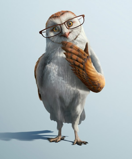 загадочная сова