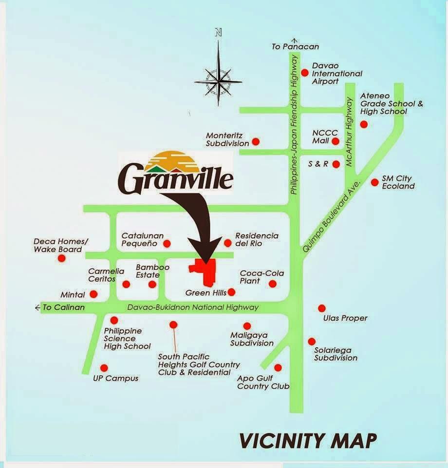 Granville Subdivision Sitemap Davao City
