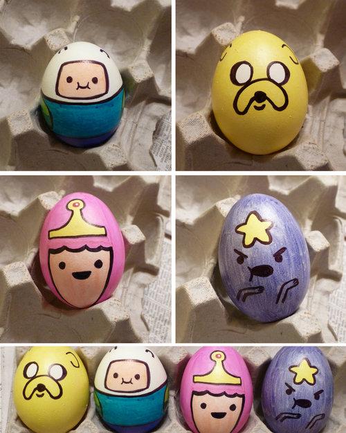 Huevos de Pascua de Hora de Aventuras