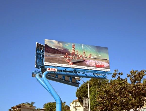 Model Turned Superstar Bora Bora billboard